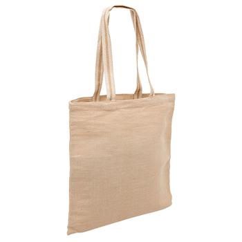 Natural - 1168 Eco Jute Tote Bag - Legend