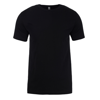Black - NL3600 Mens Cotton Crew - Next Level