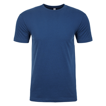 Cool Blue - NL6410 Mens Sueded Crew - Next Level