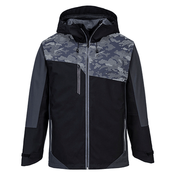 Black-Grey - S601 X3 Reflective Jacket - Portwest