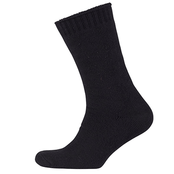 Black - 6WWSU JBs Ultra Thick Bamboo Work Sock - JBs Wear