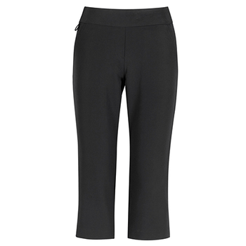 Charcoal - CL040LL Womens Jane 3/4 Length Stretch Pant - Biz Care