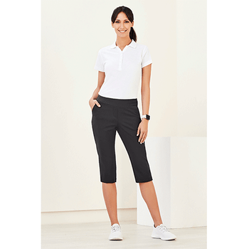 CL040LL Womens Jane 3/4 Length Stretch Pant - Biz Care