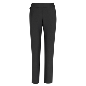 Charcoal - CL041LL Womens Jane Ankle Length Stretch Pant - Biz Care