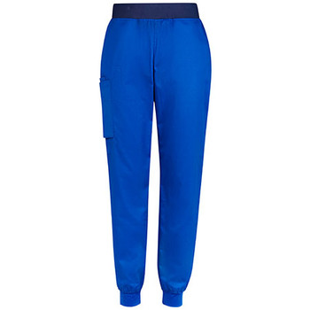 CSP042LL - Womens Riley Slim Leg Jogger Scrub Pant - Electric Blue