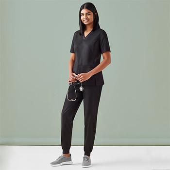 CSP042LL - Womens Riley Slim Leg Jogger Scrub Pant - Display