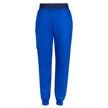 Electric Blue - CSP042ML Mens Riley Slim Leg Jogger Scrub Pant - Biz Care