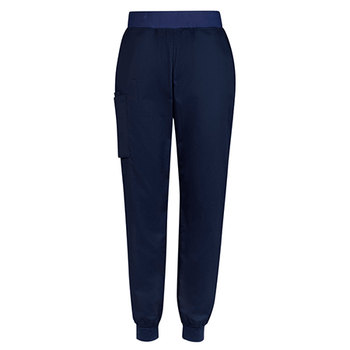 Midnight Navy - CSP042ML Mens Riley Slim Leg Jogger Scrub Pant - Biz Care