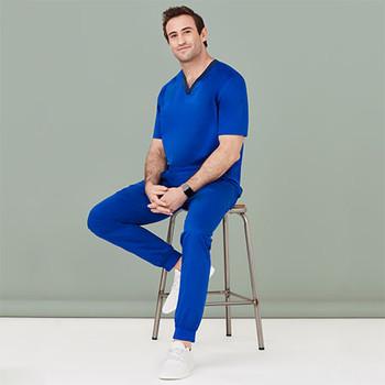 CSP042ML Mens Riley Slim Leg Jogger Scrub Pant - Biz Care