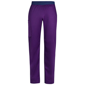 CSP047ML - Mens Riley Straight Scrub Pant - Purple