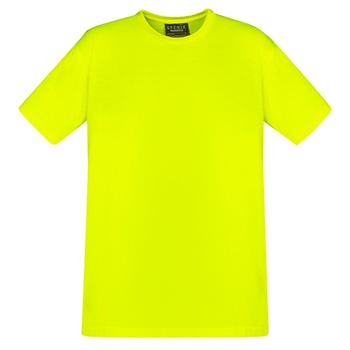 Yellow - ZH290 Mens Hi Vis Tee Shirt - SYZMIK