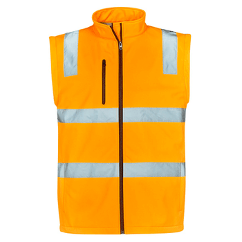 ZJ780 Unisex Hi Vis Vic Rail 2 in 1 Softshell Jacket - SYZMIK