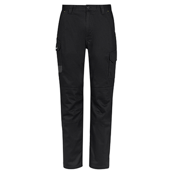 Black - ZP145R Mens Summer Cargo Pant - Regular - SYZMIK
