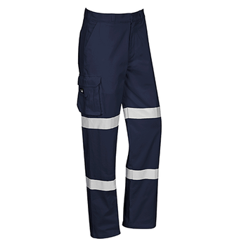 Navy - ZP920S Mens Bio Motion Taped Pant - Stout - SYZMIK