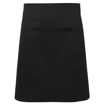 5A - Apron With Pocket - 86x50cm - Black