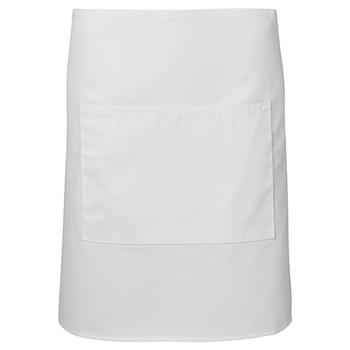 5A - Apron With Pocket - 86x50cm - White
