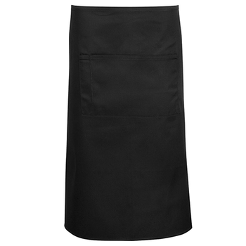 5A - Apron With Pocket - 86x71cm - Black