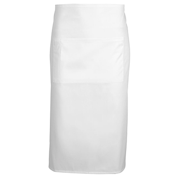 5A - Apron With Pocket - 86x71cm - White