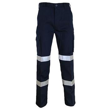 Navy - 3362 L/W CTN Biomotion Taped Pants - DNC Workwear