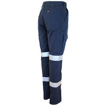 3330 Ladies Double Hoops Taped Cargo Pants - DNC Workwear
