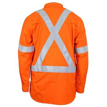 3348 Inherent FR X-Back PPE1 D/N Shirt - DNC Workwear