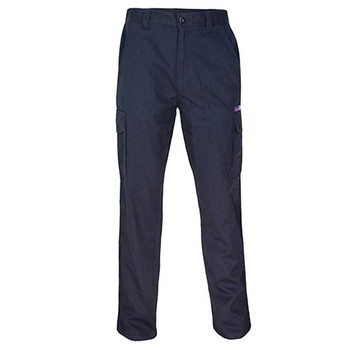 Navy - 3473 Inherent FR PPE2 Cargo Pants - DNC Workwear
