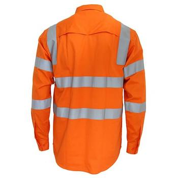 3543 Hi-Vis 3 way Cool-Breeze VIC Rail Shirt - DNC Workwear