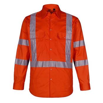 Orange - SW66 NSW Rail Lightweight Safety Shirt - Winning Spirit