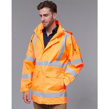 SW75 Vic Rail Hi Vis Safety Jacket - Unisex - Winning Spirit