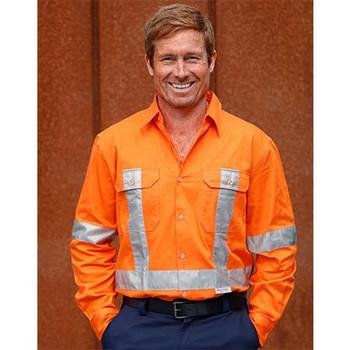 SW56 Cotton Drill Safety Shirt - Winning Spirit