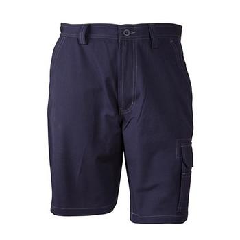 Navy - WP21 Semi-Fitted Cordura Work Shorts - Winning Spirit