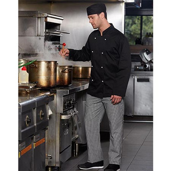 CJ01 Chefs Long Sleeve Jacket - Winning Spirit