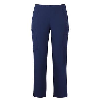 Indigo - 4SNP1 Ladies NU Scrub Cargo Pant - JBs Wear