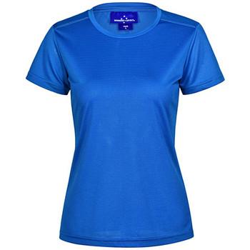 TS40 - Ladies Rapidcool Ultra Light Tee - Electric Blue