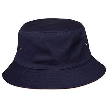 Dark Navy-Sand - CH32A Bucket Hat - Winning Spirit