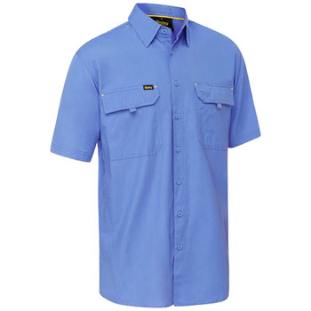 Blue - BS1414 X Airflow Ripstop Shirt - Bisley