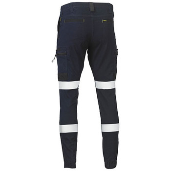 BPC6335T Flex and Move Stretch Denim Cargo Cuffed Pants - Bisley