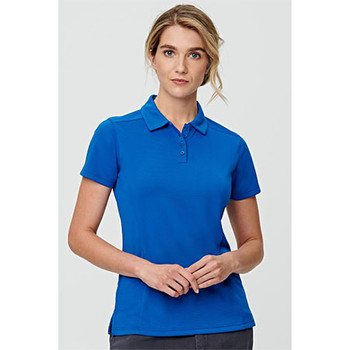 PS88 Ladies Corporate Bamboo Charcoal S/S Polo - Winning Spirit
