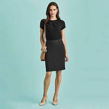 20115 - Womens Multi-Pleat Skirt - Display