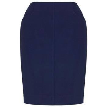 Marine - 20717 Womens Bandless Pencil Skirt - Biz Corporates