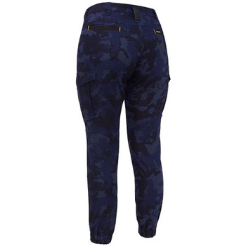 BPL6337 Womens Flex and Move Stretch Camo Cargo Pants - Limited Edition - Bisley