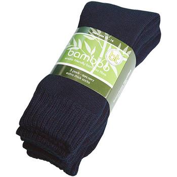 Dark Navy - BETS-3 Bamboo Extra Thick Socks - 3 Pack - Bamboo Textiles
