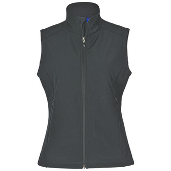 Charcoal - JK26 Ladies Softshell Hi-Tech Jacket - Winning Spirit