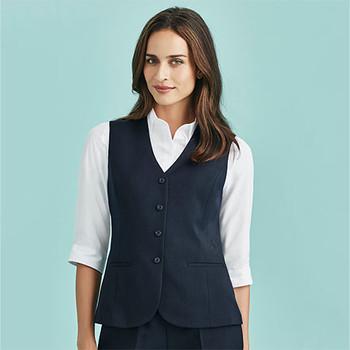 50112 Womens Longline Vest - Biz Corporates