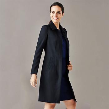 63830 Womens Lined Overcoat - Biz Corporates
