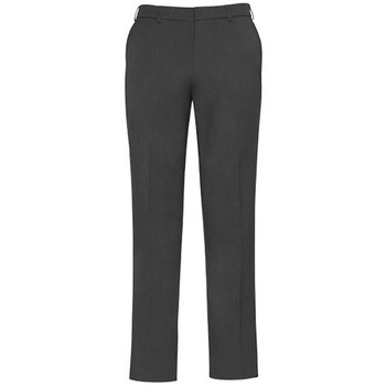 Charcoal - 74013 Mens Slimline Pant - Biz Corporates