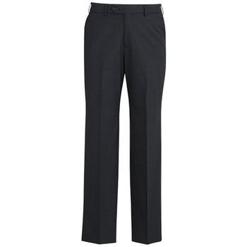 Charcoal - 74014 Mens Adjustable Waist Pant - Biz Corporates