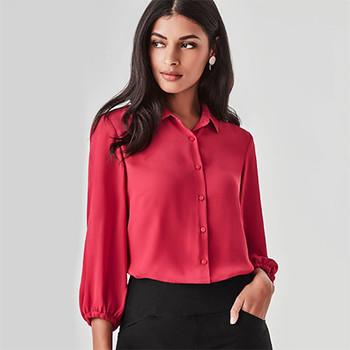 RB965LT Womens Lucy 3/4 Sleeve Blouse - Biz Corporates