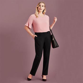 RGP975L Womens Siena Adjustable Waist Pant - Biz Corporates
