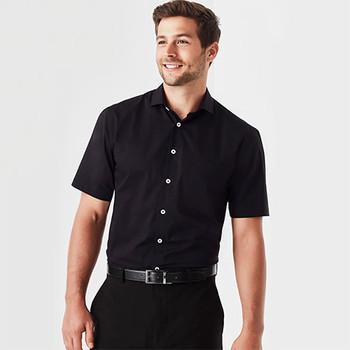 RS968MS Mens Charlie Classic Fit S/S Shirt - Biz Corporates